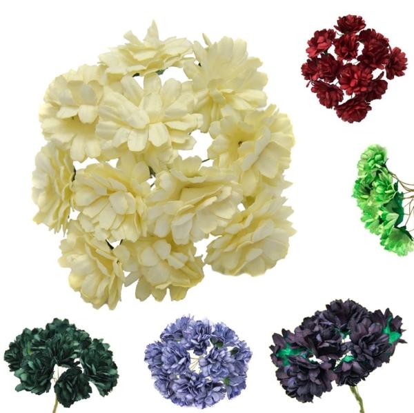 Ramillete Candela, elaborado de flores de papel