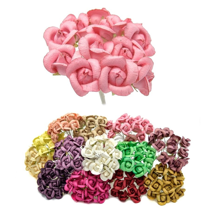 Ramillete Denis, con rosas alambradas