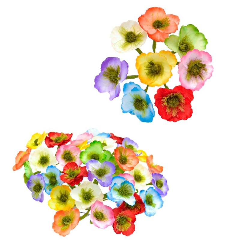 Ramillete Mika, flores de tela