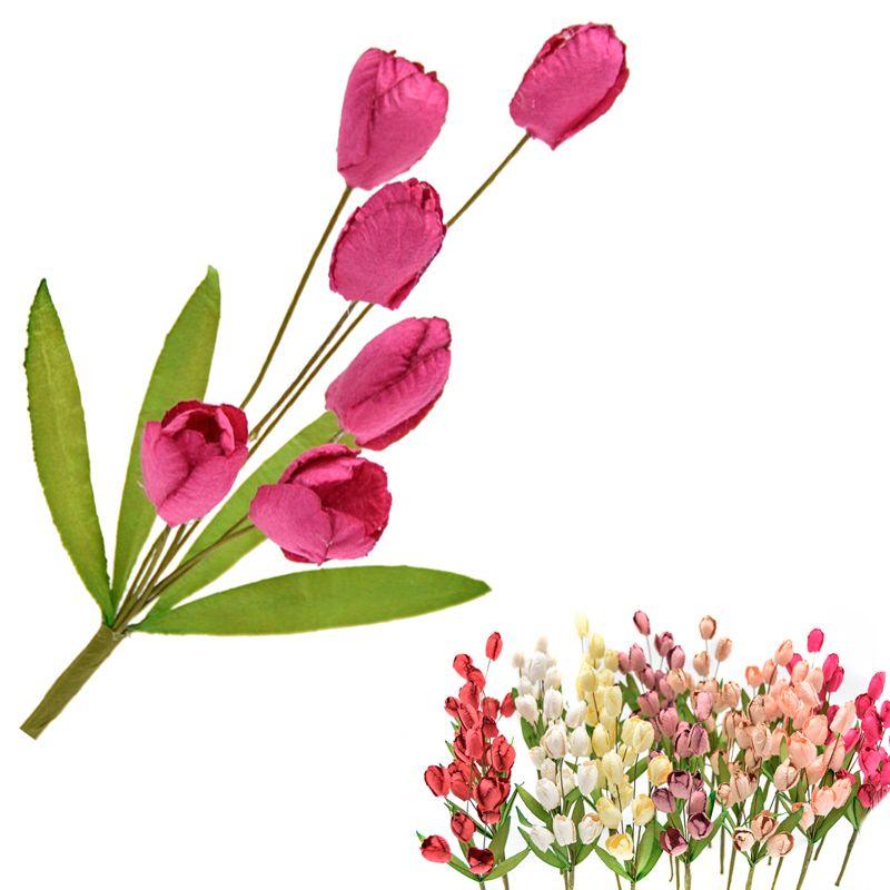 Ramillete Tulipan, flores preservadas