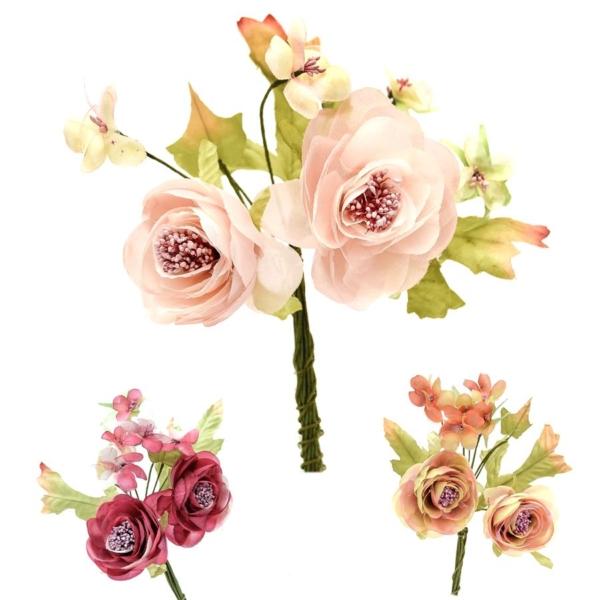 Flor Yelena, ramillete elaborado con pistilos