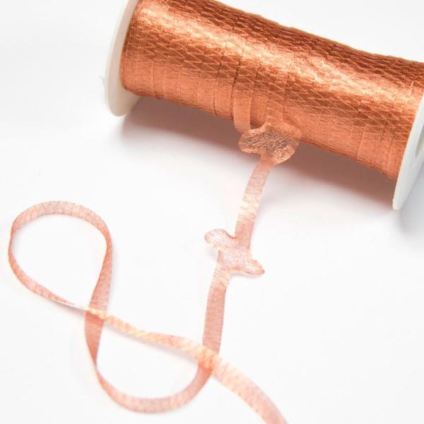 Malla metálica tubular para elaborar tu tocado