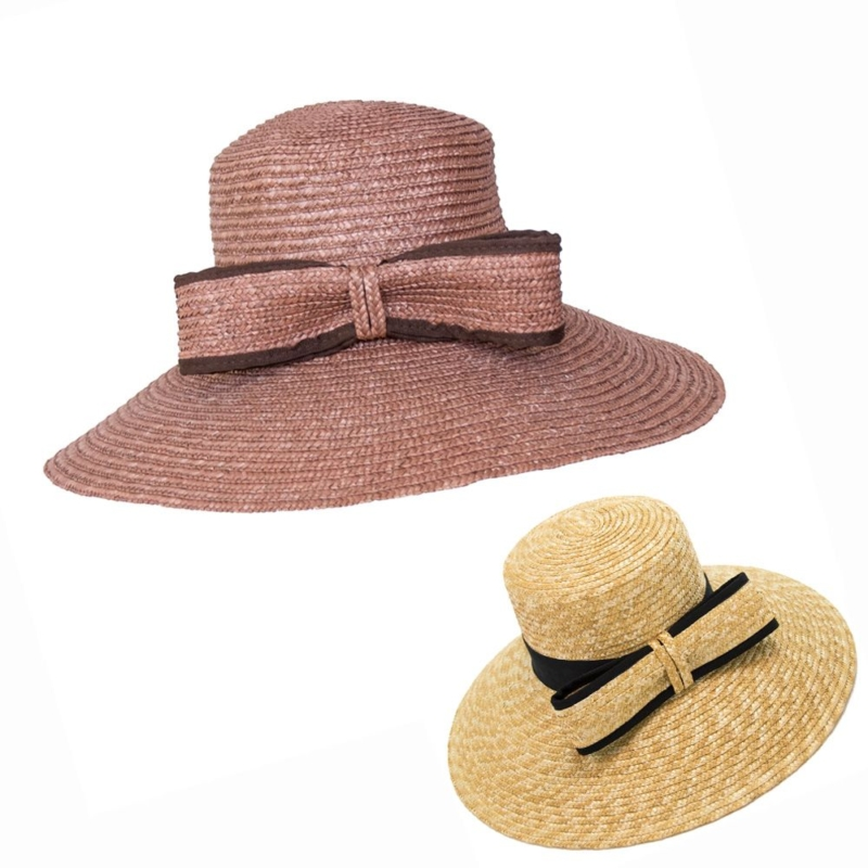Sombrero Lazada, realizado en paja natural